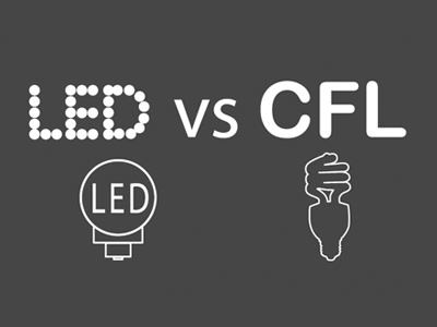 LED vs CFL Light Comparison