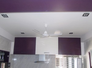 Cubie - 8W LED DownLight in Kitchen