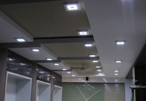 LED Downlight in Showroom