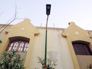 LED Street light in Residential area